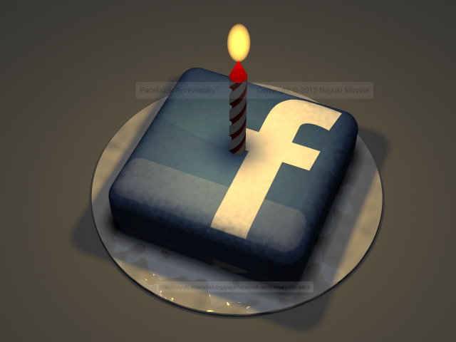 Facebook anniversary ray trace