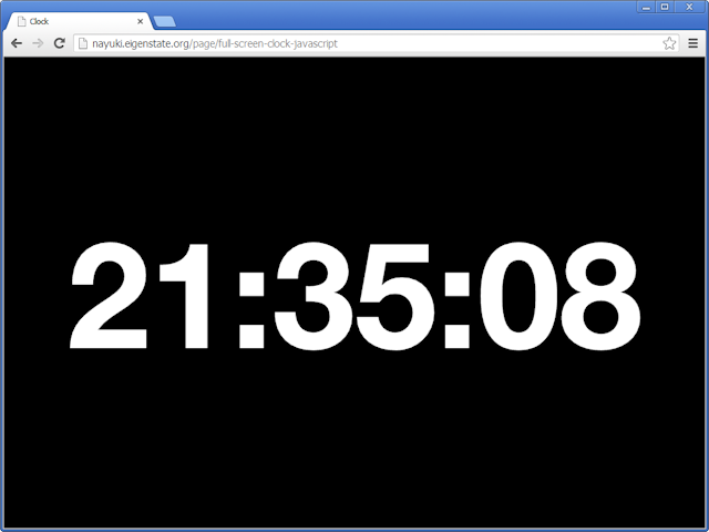 How to make a digital clock in javascript