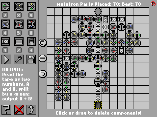 Screenshot: Metatron