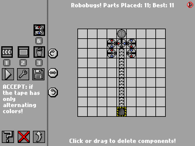 Screenshot: Robobugs!