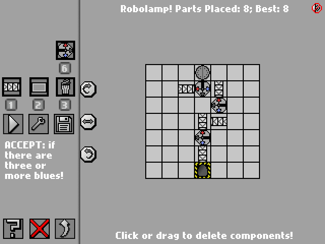 Screenshot: Robolamp!