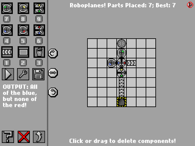 Screenshot: Roboplanes!