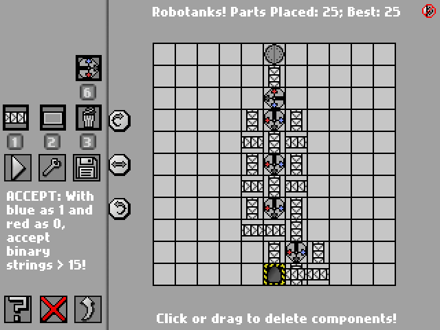 Screenshot: Robotanks!
