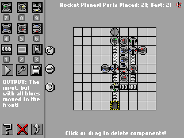 Screenshot: Rocket Planes!